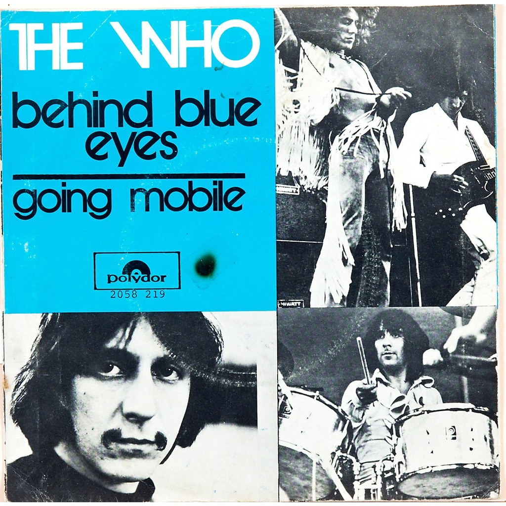 Image result for the who pictures behind blue eyes
